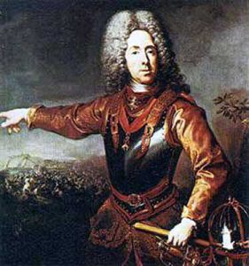 Prince Eugene of Savoy: Battle of Blenheim 2nd August 1704 in the War of the Spanish Succession
