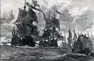 The Armada in the Channel: Spanish Armada June to September 1588