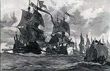 The spanish armada the armada in the channel spanish armada june to september 1588 publicscrutiny Choice Image