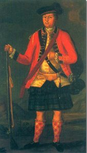 Captain John Campbell: Battle of Ticonderoga on 8th July 1758 in the French and Indian War