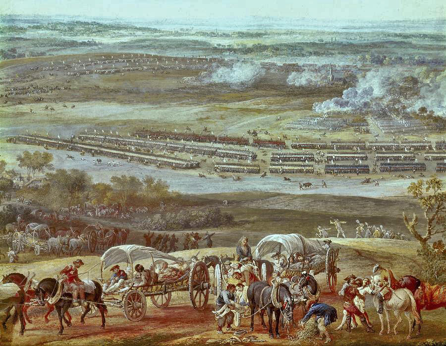 Battle of Rocoux 30th September 1746 in the War of the Austrian Succession