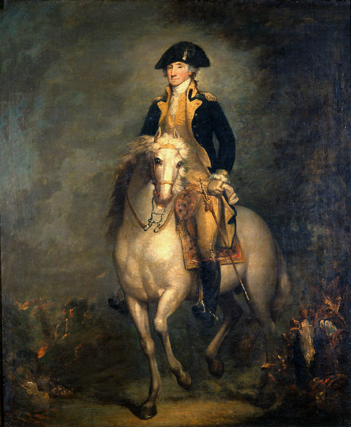 George Washington: American Revolutionary War: picture by Rembrandt Peale