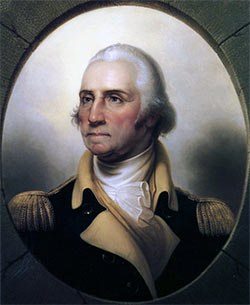 George Washington: picture by Jean Béraud: click here to buy this picture
