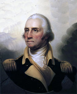 George Washington: picture by Jean Béraud: buy this picture