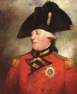 King George III: picture by Sir William Beechey: click here to buy this picture