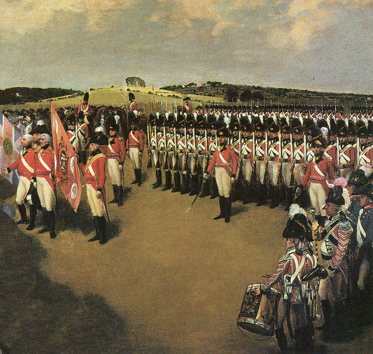 British Regiment of Foot