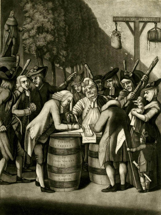 Signing the oath of loyalty