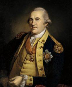 Baron Friedrich von Steuben: picture by Peale