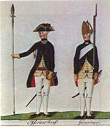 Hessian Fusilier Regiment von Knyphausen: Battle of White Plains on 28th October 1776 in the American Revolutionary War