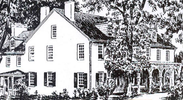 Admiral Warren Tavern: Battle of Paoli on 20th/21st September 1777 in the American Revolutionary War