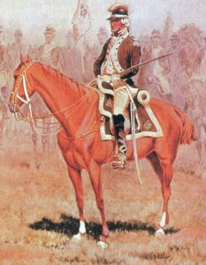 American Dragoon: Battle of Cowpens on 17th January 1781 in the American Revolutionary War