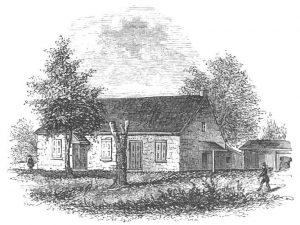 Birmingham Meeting House: Battle of Brandywine Creek on 11th September 1777 in the American Revolutionary War