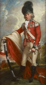 British Light Dragoon officer: Battle of White Plains on 28th October 1776 in the American Revolutionary War