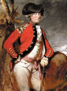 Major-General Lord Cornwallis: Battle of Guilford Courthouse on 15th March 1781 in the American Revolutionary War