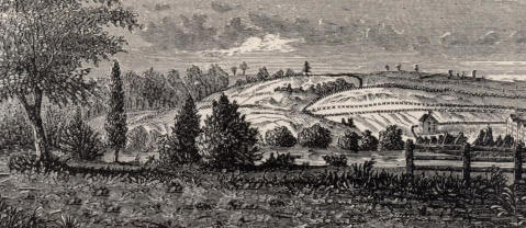 Chatterton's Hill: Battle of White Plains on 28th October 1776 in the American Revolutionary War