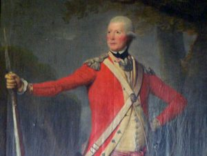 Lieutenant Colonel John Anstruther 62nd Regiment: Battle of Freeman's Farm on 19th September 1777 in the American Revolutionary War