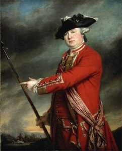 Lieutenant-Colonel Francis Smith, British commander at the Battle of Concord and Lexington 19th April 1775 American Revolutionary War: picture by Francis Cotes: click here to buy this picture