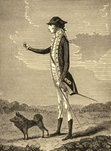 Charles Lee as a young British officer in the French and Indian War: Battle of Monmouth on 28th June 1778 in the American Revolutionary War