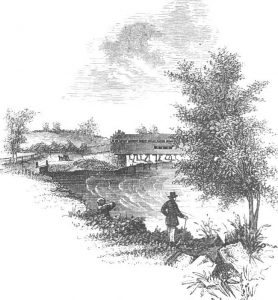 Jeffrey's Ford: Battle of Brandywine Creek on 11th September 1777 in the American Revolutionary War