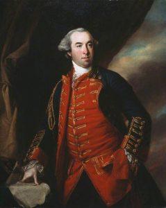 Major-General William Phillips Royal Artillery: Battle of Freeman's Farm on 19th September 1777 in the American Revolutionary War