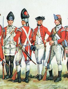 British Marines: Battle of Lexington and Concord 19th April 1775 American Revolutionary War