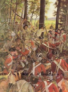 Fighting at Montreal in September 1775: Battle of Quebec on 31st December 1775 in the American Revolutionary War