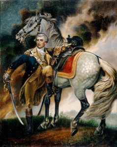 Major-General Nathaniel Greene: Battle of Guilford Courthouse on 15th March 1781 in the American Revolutionary War