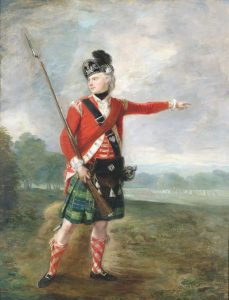 Light Company Officer of a Highland Regiment: Battle of Paoli on 20th/21st September 1777 in the American Revolutionary War