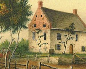 Old Stone House: Battle of Long Island on 27th August 1776 in the American Revolutionary War