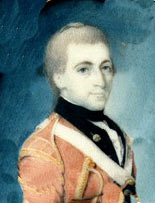 Patrick Ferguson as captain of the light company in the 70th Regiment of Foot: Battle of King's Mountain on 7th October 1780 in the American Revolutionary War