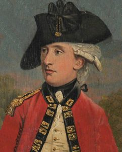 Officer of the Royal Welch Fusiliers: Battle of Camden on 16th August 1780 in the American Revolutionary War