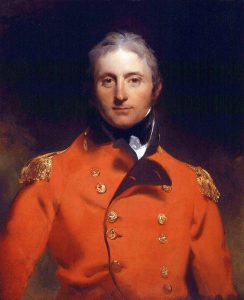 Sir John Moore killed at the Battle of Corunna on 16th January 1809 in the Peninsular War: picture by Sir Thomas Lawrence