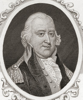 General Artemas Ward, American Commander: Battle of Bunker Hill on 17th June 1775 in the American Revolutionary War: click here to buy this picture