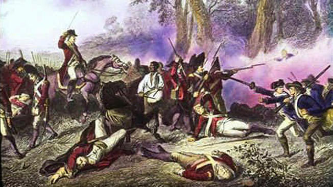 Battle of Brooklyn: Battle of Long Island on 27th August 1776 in the American Revolutionary War
