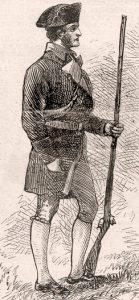 Seth Warner's Vermont Green Mountain Boys: Battle of Hubbardton 7th July 1777 in the American Revolutionary War