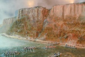 Landing on the East Side: Battle of Fort Washington on 17th November 1776 in the American Revolutionary War