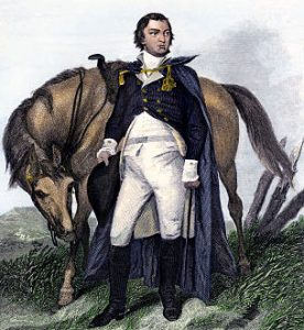 Major-General Nathaniel Greene: Battle of Germantown on 4th October 1777 in the American Revolutionary War: click here to buy this picture