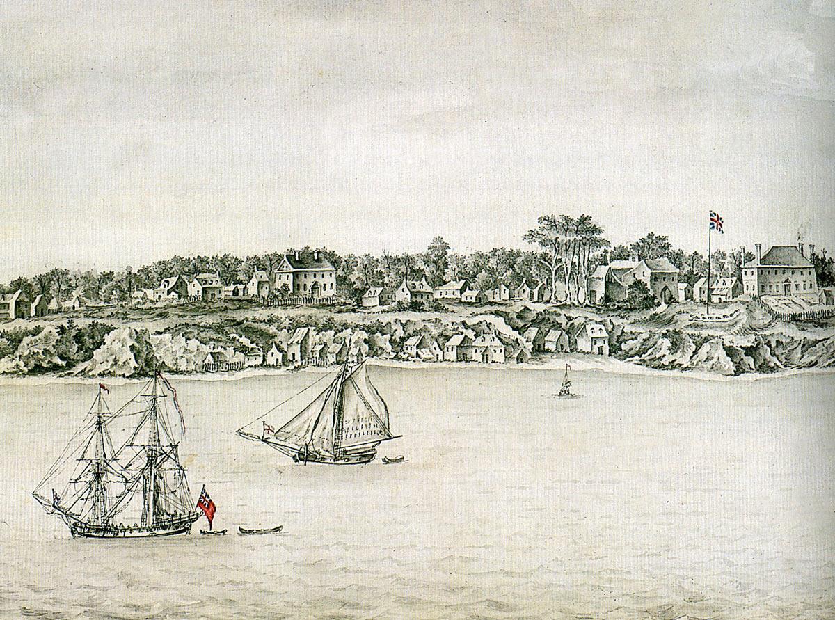 Yorktown 19th October 1781 in the American Revolutionary War