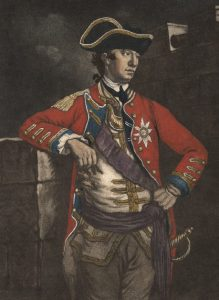Major-General William Howe: Battle of Bunker Hill on 17th June 1775 in the American Revolutionary War: click here to buy this picture