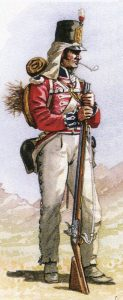 First Foot Guards: Battle of Barossa on 5th March 1811 in the Peninsular War