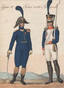 French Line Regiment: Battle of Fuentes de Oñoro 3rd to 5th May 1811 in the Peninsular War