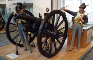 Royal Artillery 6 pounder gun: Battle of Vitoria on 21st June 1813 during the Peninsular War