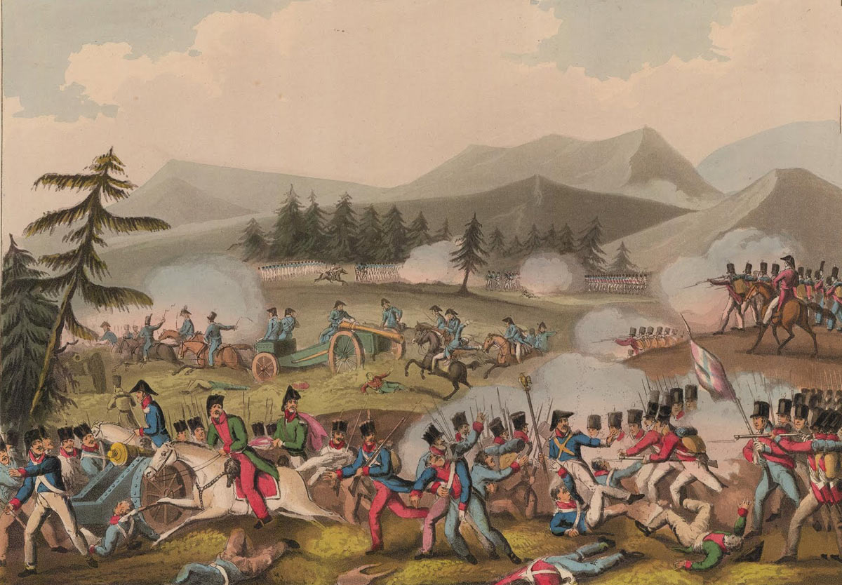 Battle of Barossa on 5th March 1811 in the Peninsular War