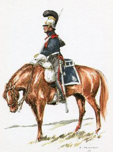 Dutch 2nd Carabinier Regiment: Battle of Waterloo on 18th June 1815