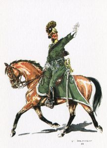 Dutch Light Dragoon: Battle of Waterloo on 18th June 1815