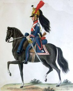 French Dragoon: Battle of Salamanca on 22nd July 1812 during the Peninsular War: picture by Cristoph and Cornelius Suhl