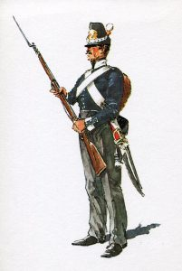 Dutch Infantry Regiment: Battle of Waterloo on 18th June 1815