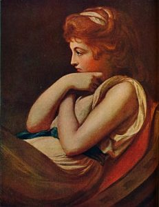 Emma, Lady Hamilton painted by George Romney: buy this pictcure