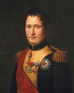 Joseph Bonaparte: Battle of Talavera on 28th July 1809 in the Peninsular War: buy a picture of Joseph Bonaparte