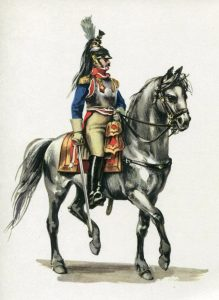 French Cuirassier: Battle of Waterloo on 18th June 1815